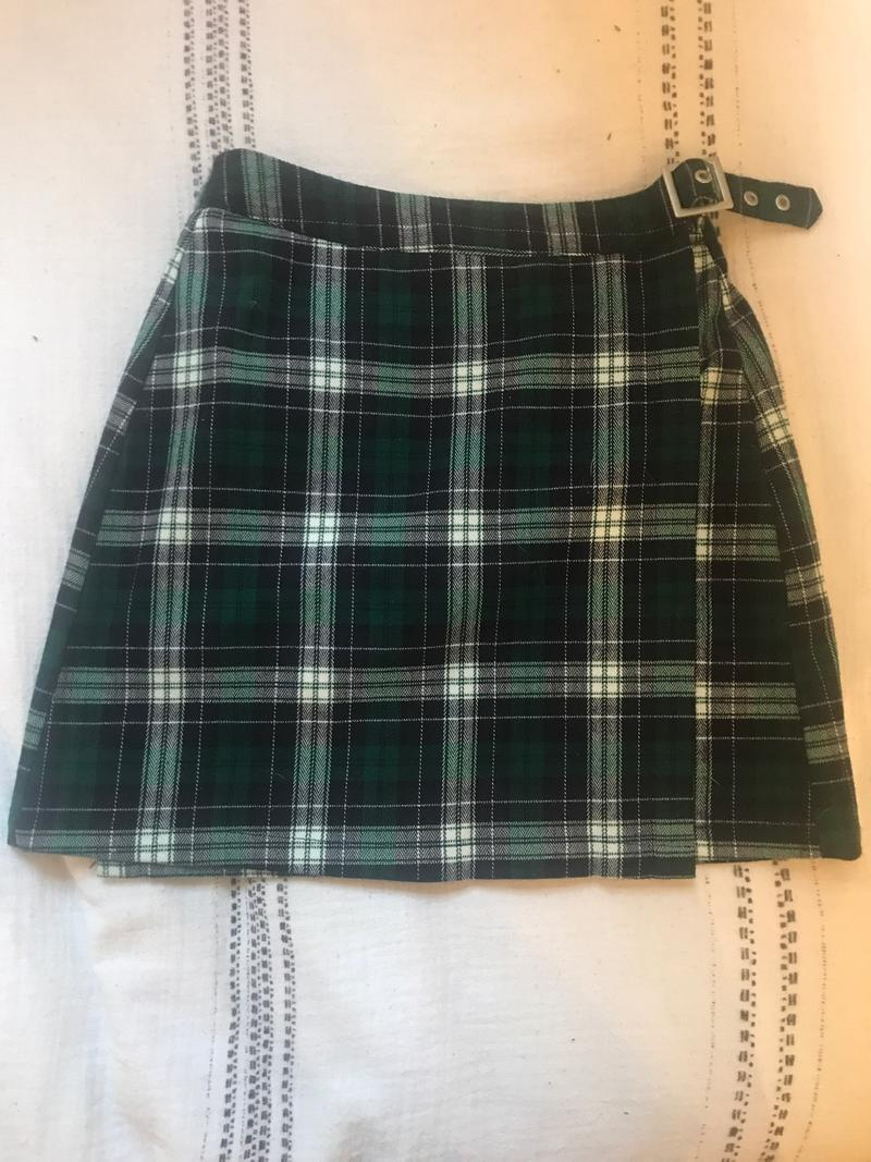 Green Buckle Skirt