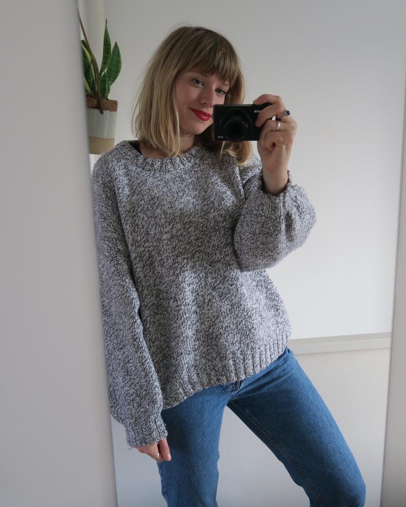 Warm Grey jumper