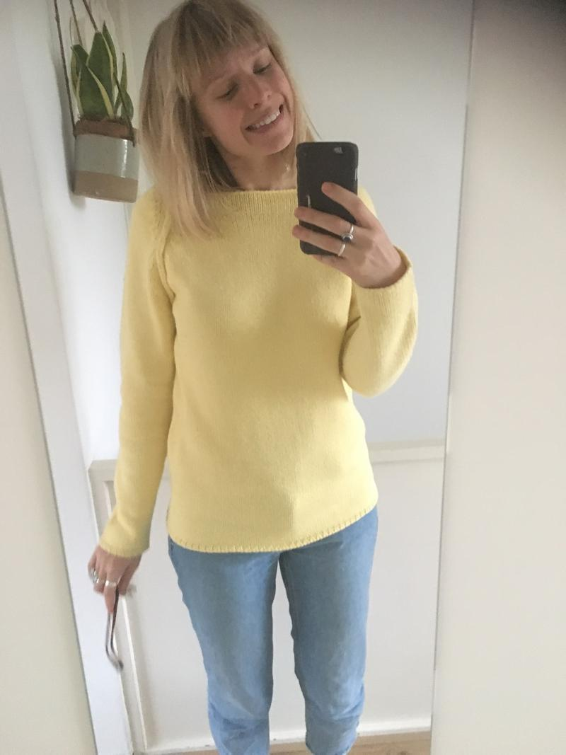 Wool Yellow Jumper