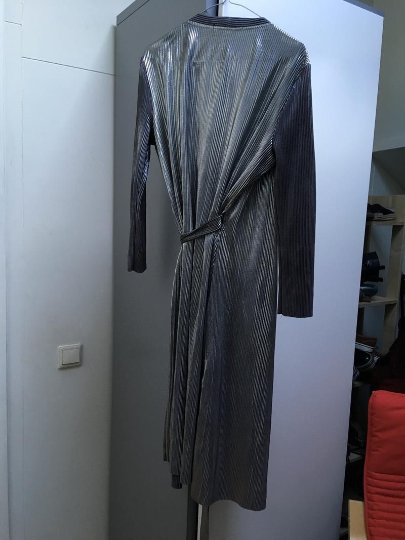 Silver Wrap Dress