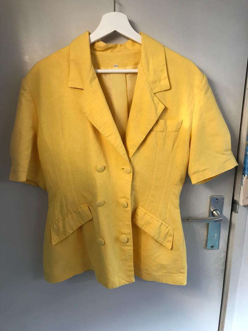 80s Short Sleeve Blazer