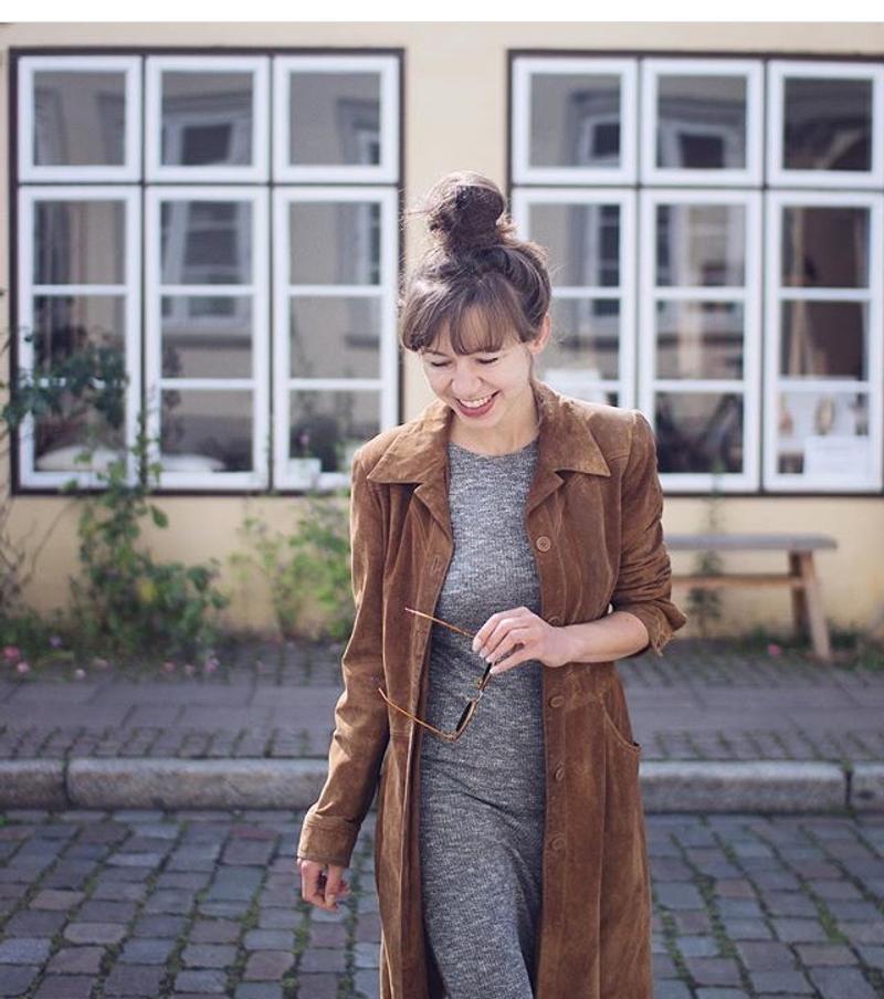 Seventies Suede Leather Vintage Coat