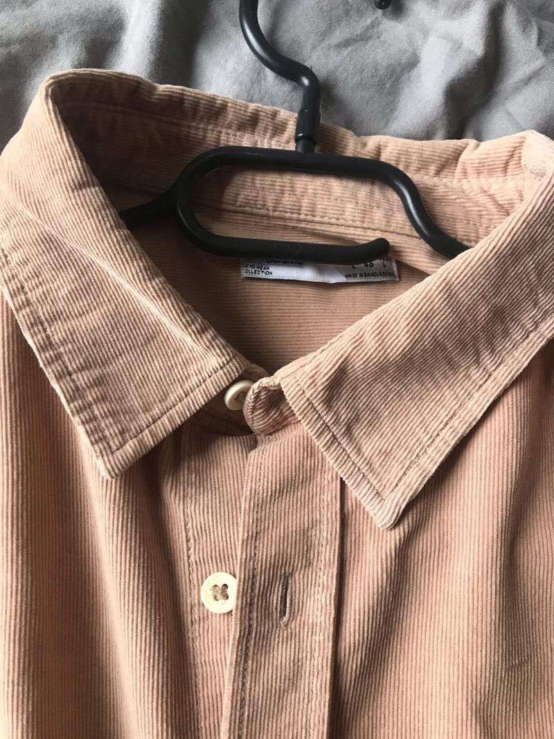 Sand / Beige Rib Shirt