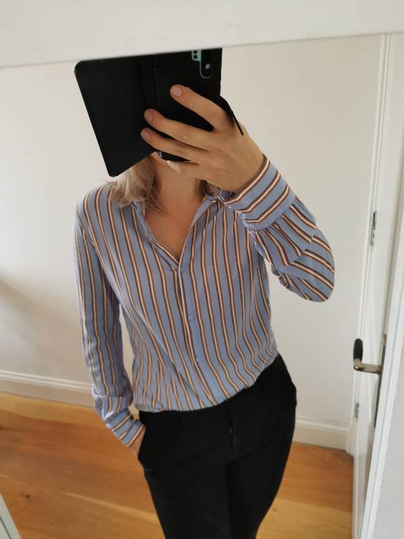 Gestreepte blouse Mödstrom.