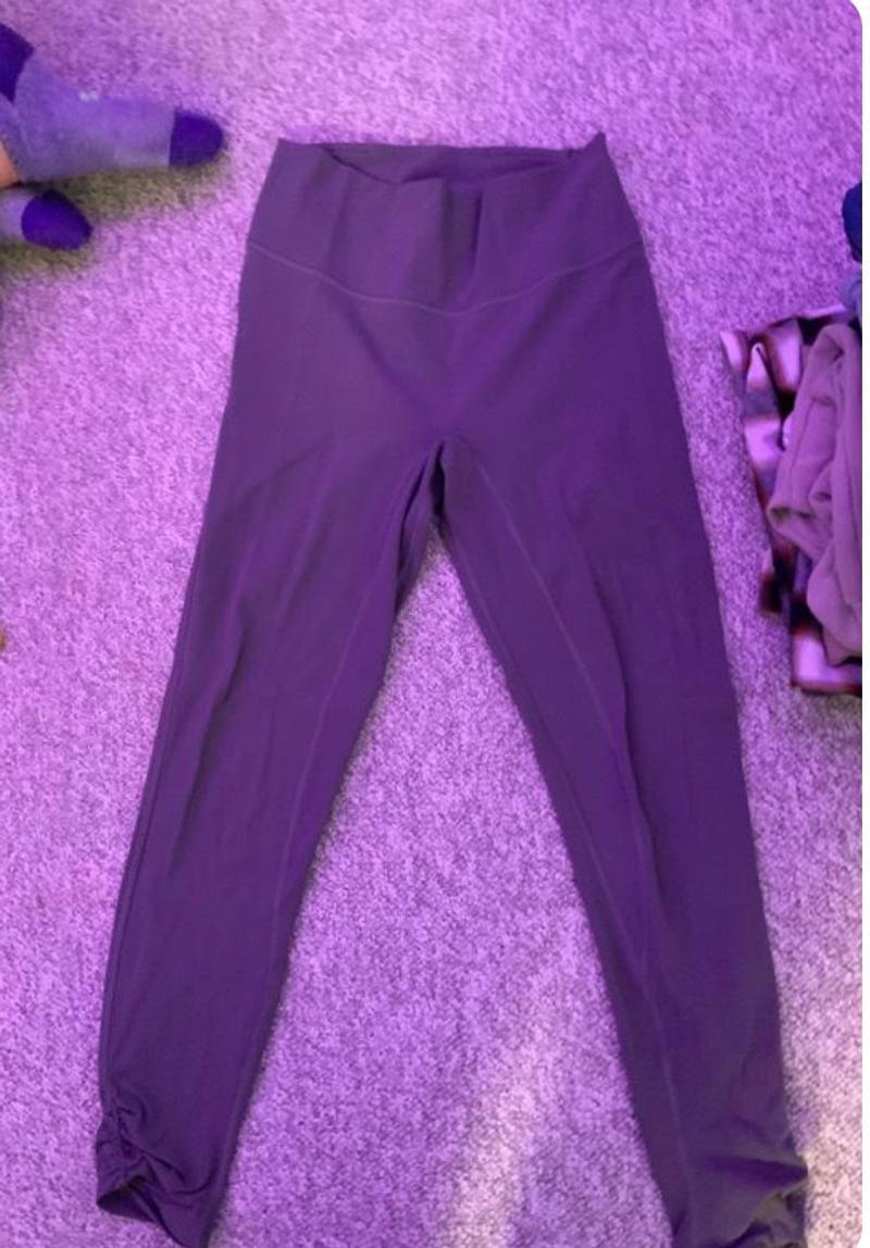purple lulu leggings